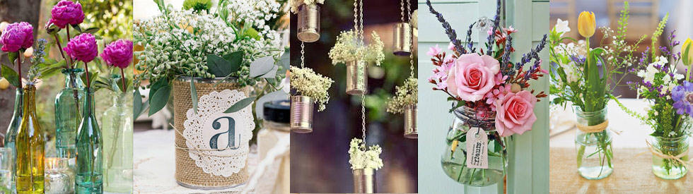 DIY Wedding Ideas Flowers Favours And Fab Table Decor For A Fascinating Wedding Table Decorations Jam Jars