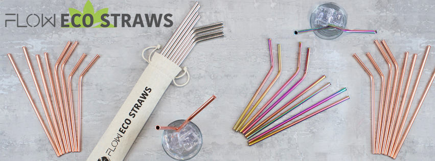 Metal Straws By Flow Eco Straws